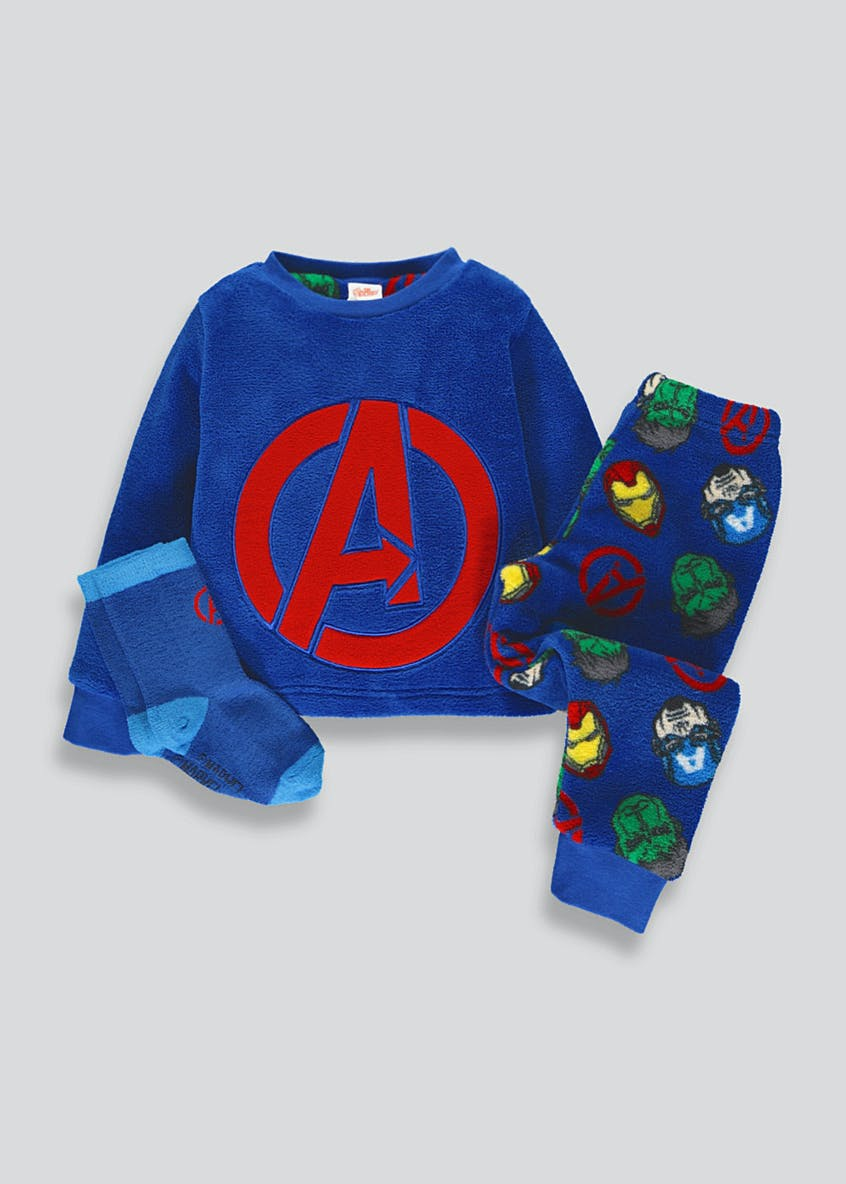 Kids Avengers Fleece Pyjama Gift Box (3-9yrs)