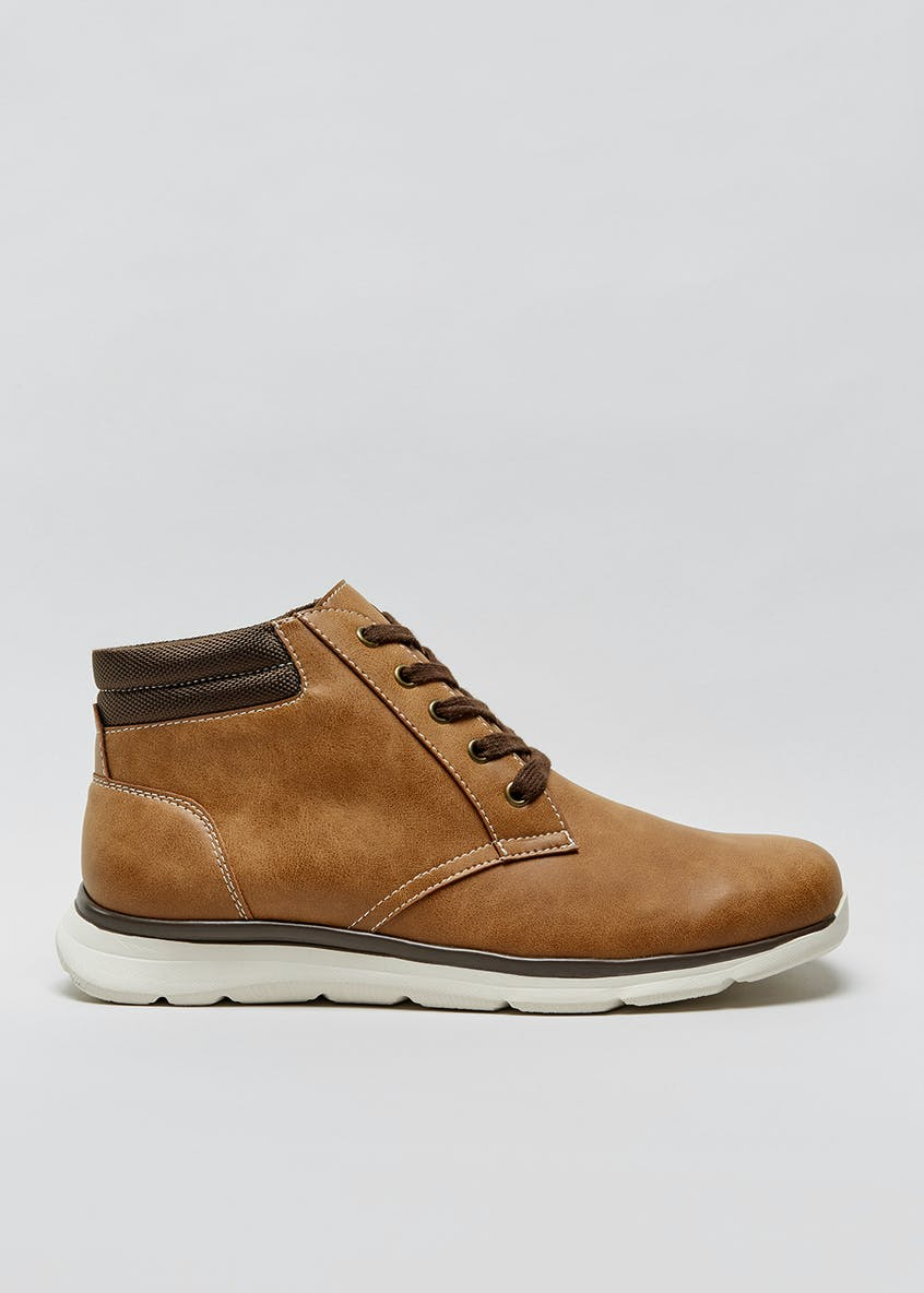 Padded Collar Sports Boots