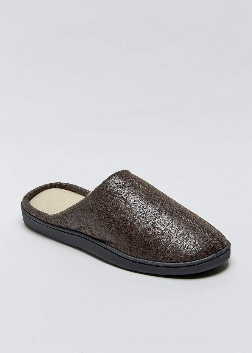 PU Mule Slippers
