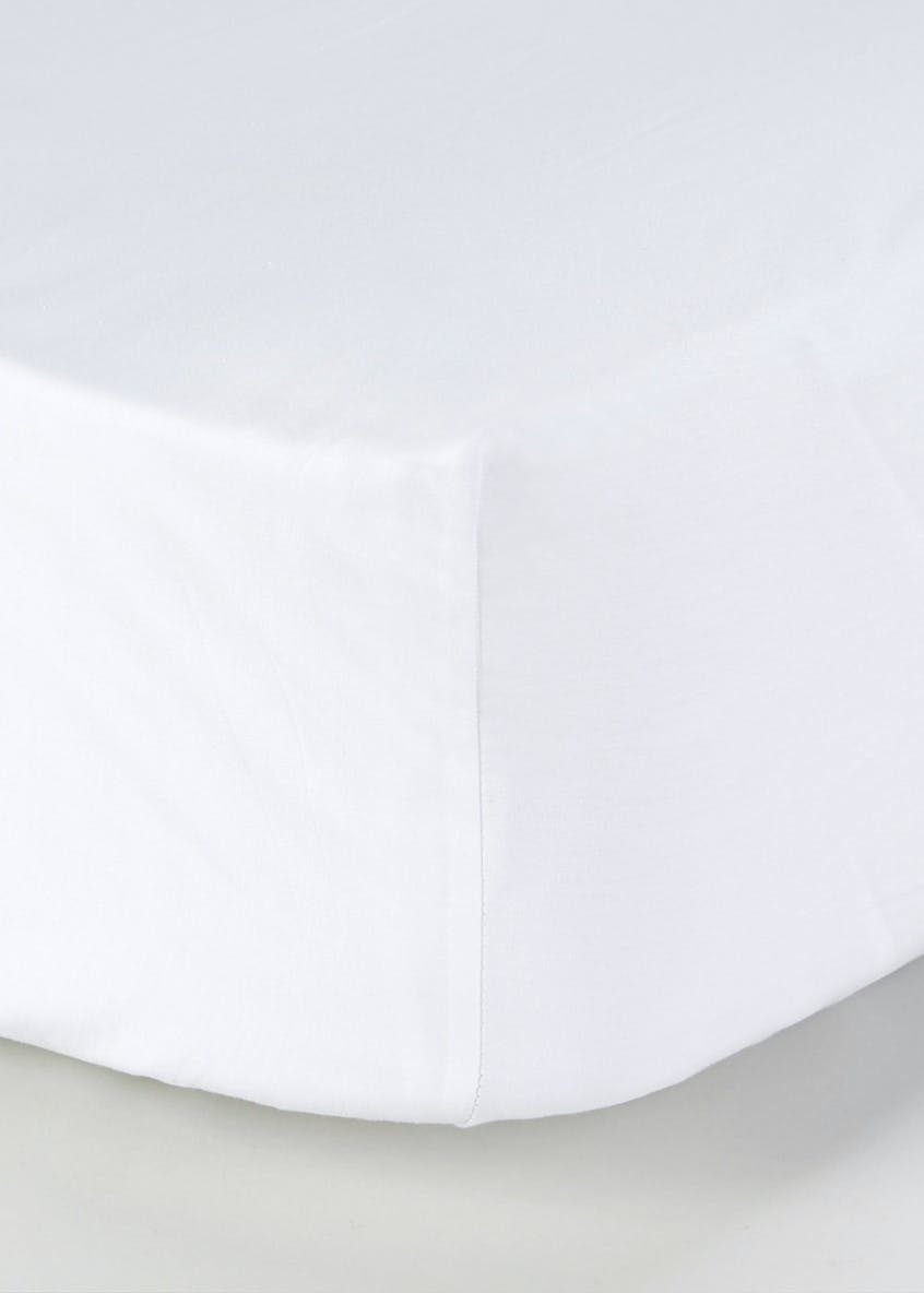 100% Cotton Sateen Fitted Bed Sheet (400 Thread Count)
