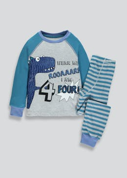 Kids I am 4 Monster Pyjama Set (4yrs)
