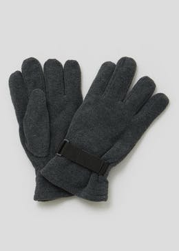 Thinsulate Fleece Strap Gloves