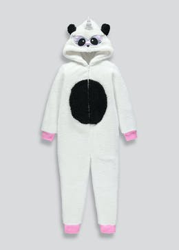 Kids Panda Hooded Onesie (4-13yrs)