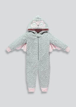 Kids Owl Hooded Onesie (12mths-5yrs)
