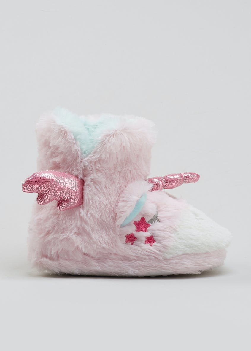 Kids 3D Unicorn Slipper Boots (Younger 4-12)