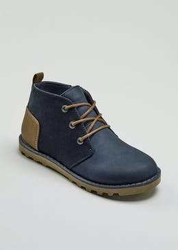 Boys Lace Up Boots (Younger 13-Older 6)