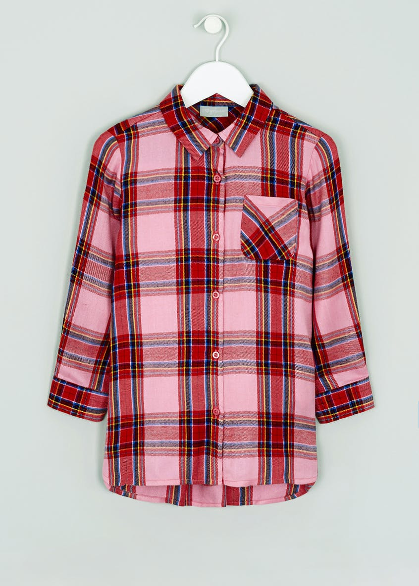 Girls Check Shirt (4-13yrs)