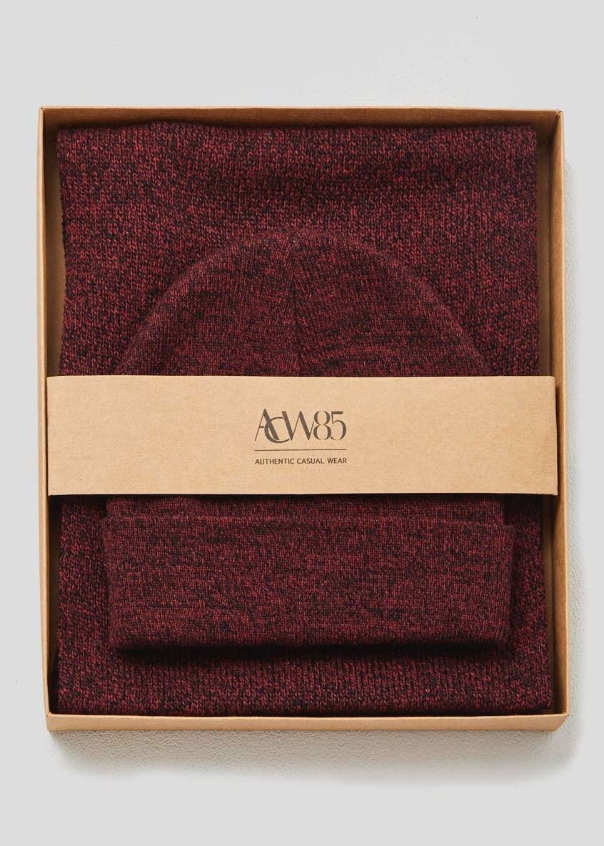 Knitted Hat & Scarf Gift Set