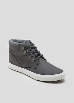 Lace Up Sports Boots