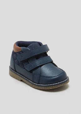 Unisex 1st Walkers Quilted Chukka Boots (Younger 3-7)