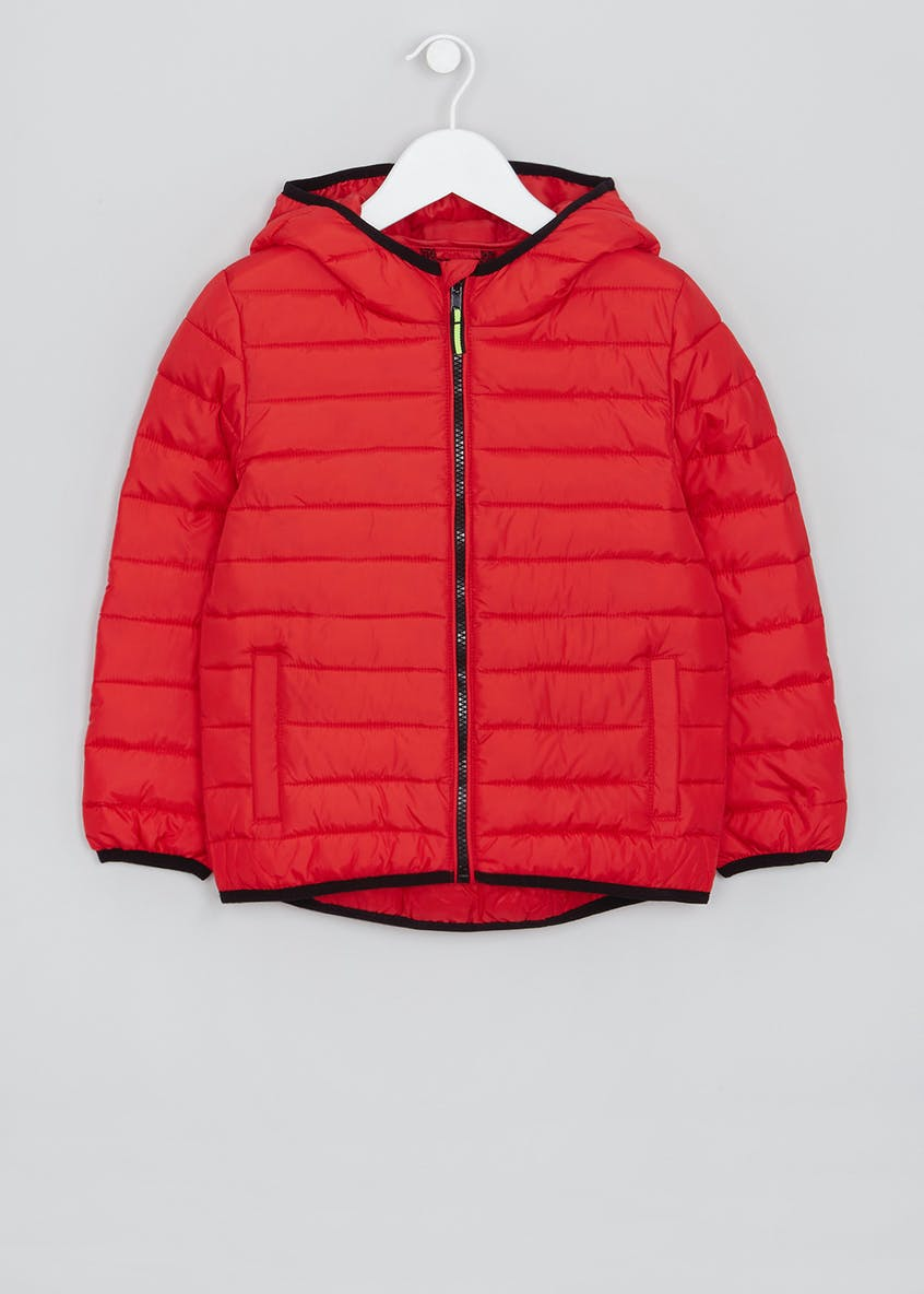 Kids Quilted Hooded Jacket (4-13yrs)