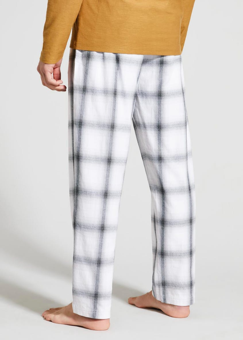 Ombre Check Pyjama Bottoms