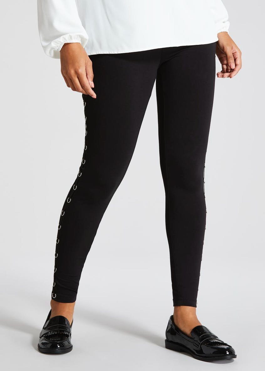 Eyelet Side Leggings