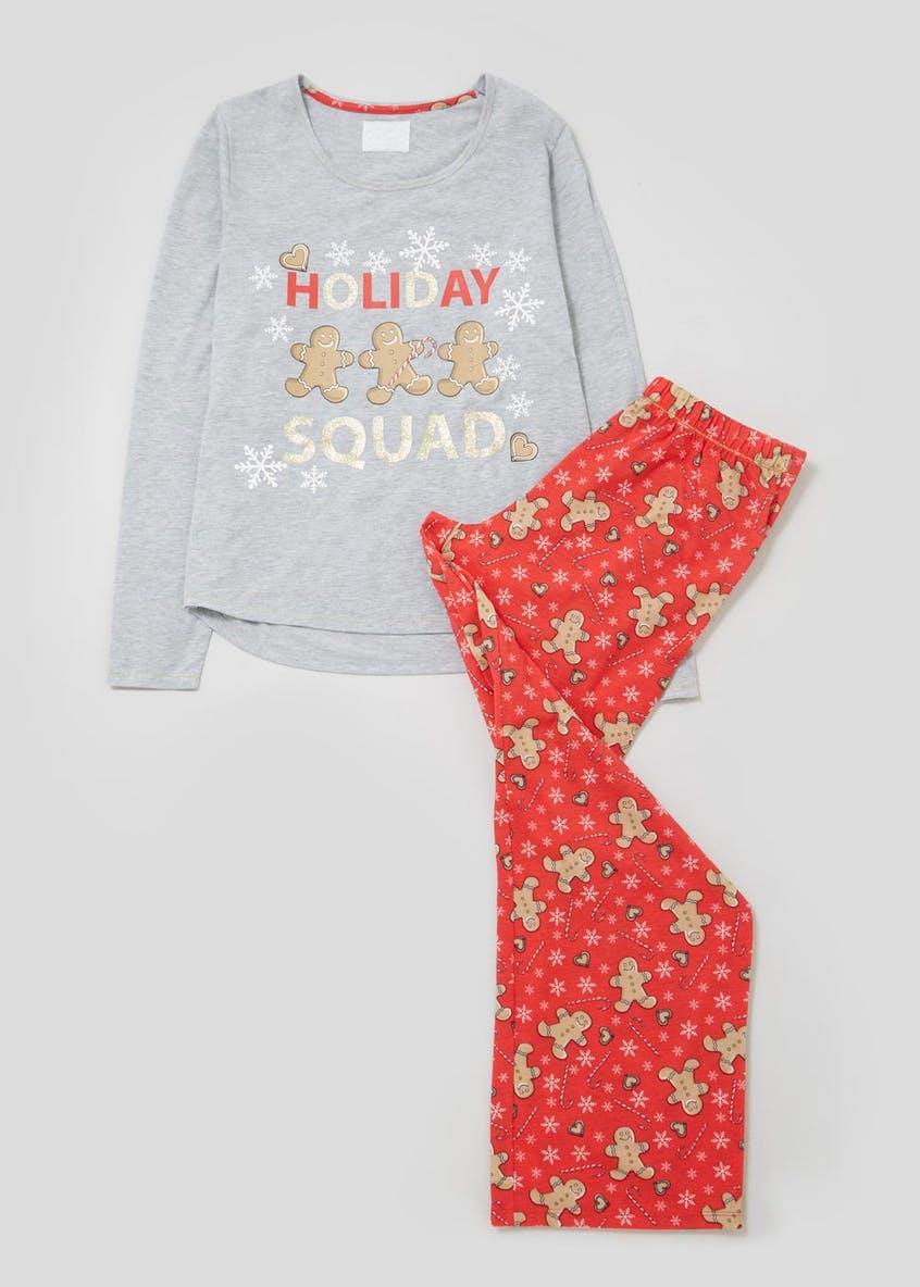Gingerbread Christmas Pyjama Gift Set