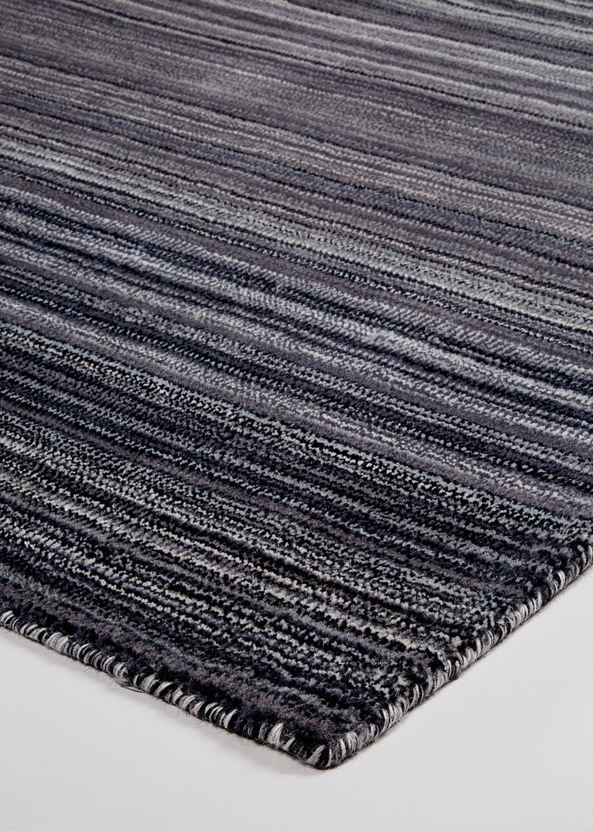 Fine Stripe Wool Rug