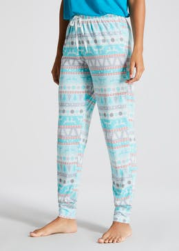 Mix & Match Fair Isle Christmas Pyjama Bottoms