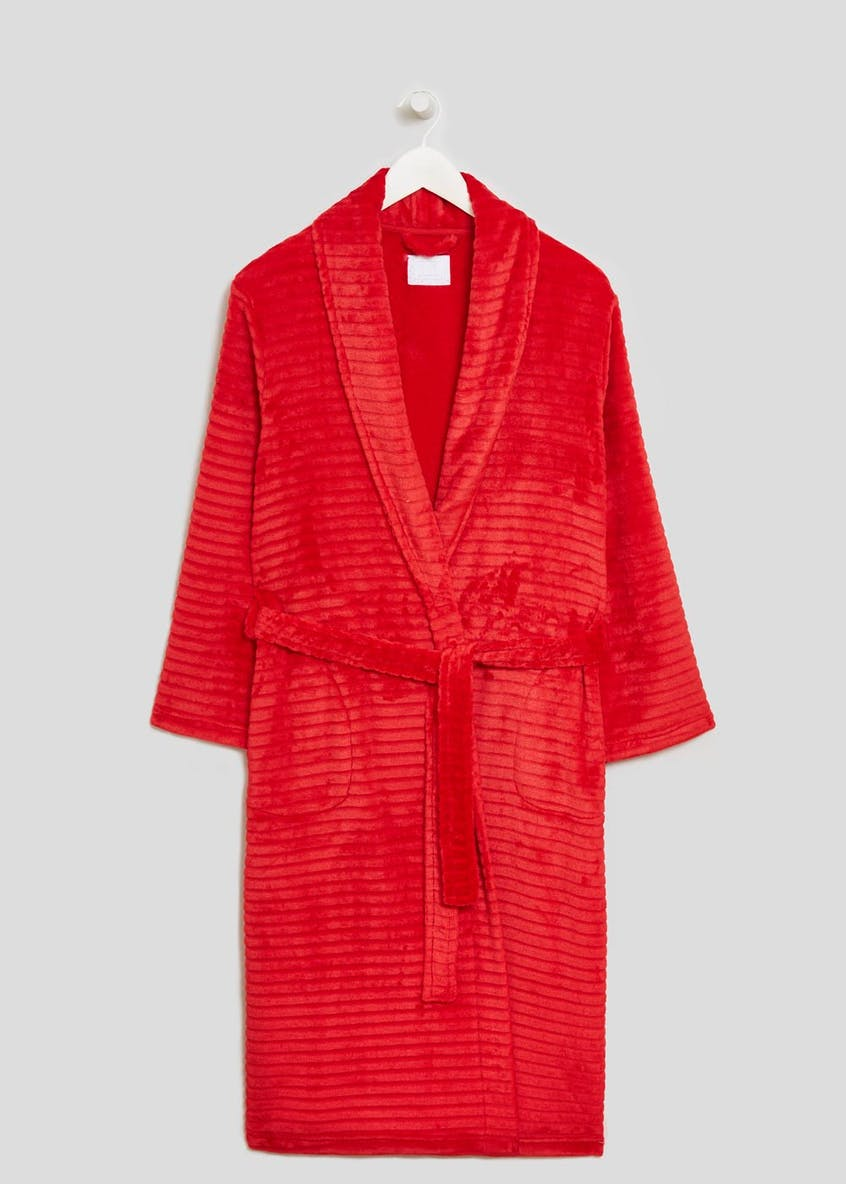 Ripple Textured Dressing Gown