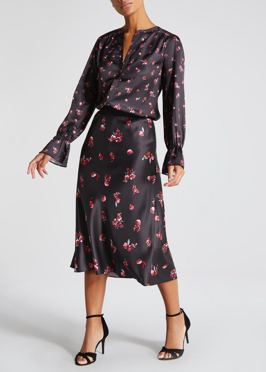 FWM Floral Bell Sleeve Blouse