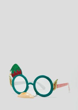 Elf Christmas Glasses