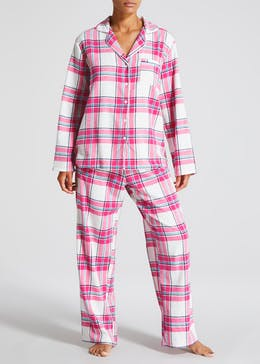 Check Flannel Christmas Pyjama Gift Set