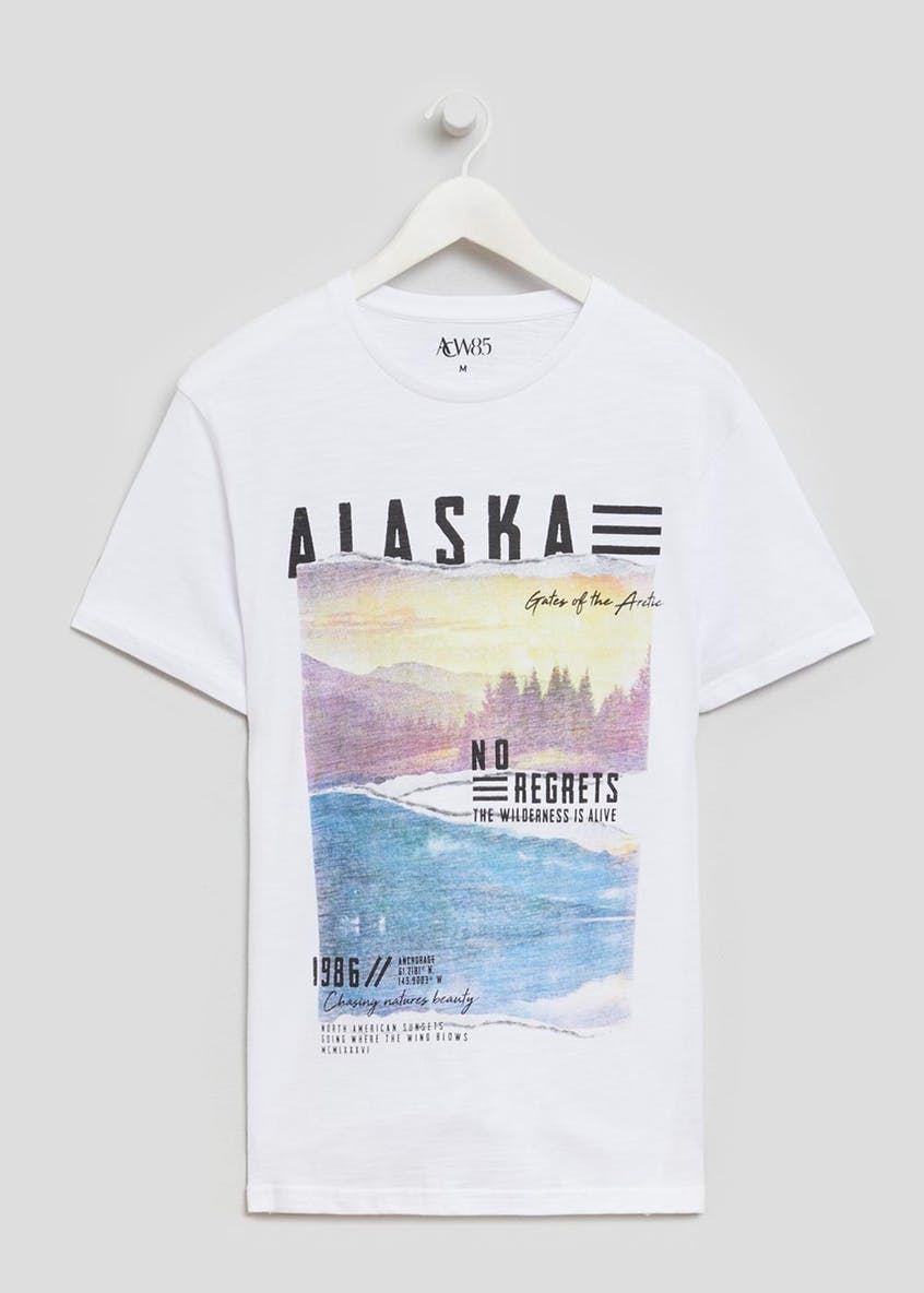 Alaska Graphic Print T-Shirt