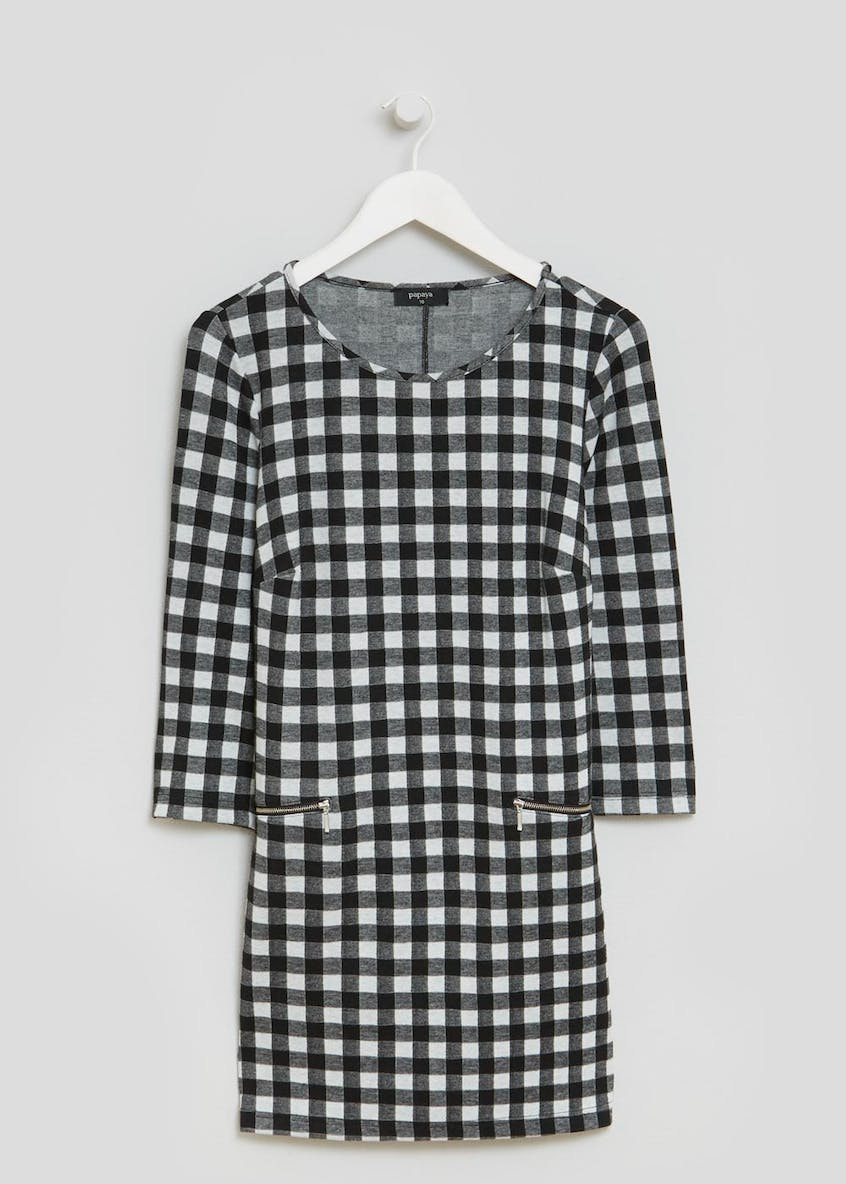 Gingham Formal Tunic