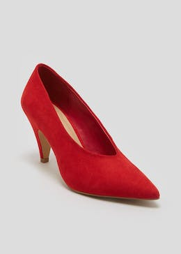 High Vamp Court Shoes