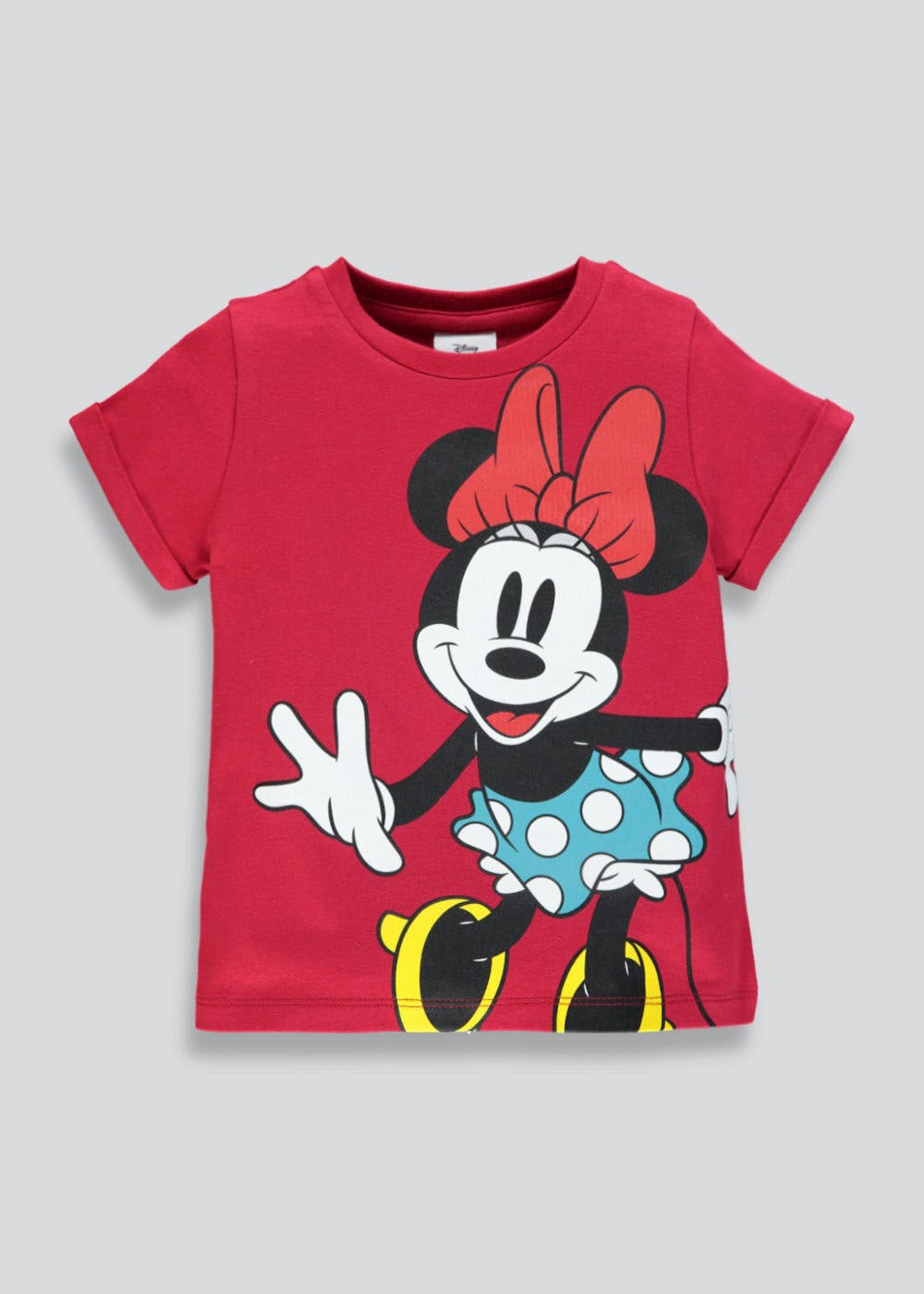 1ac04af2fc9 Kids Disney Minnie Mouse T-Shirt (9mths-7yrs) – Red – Matalan