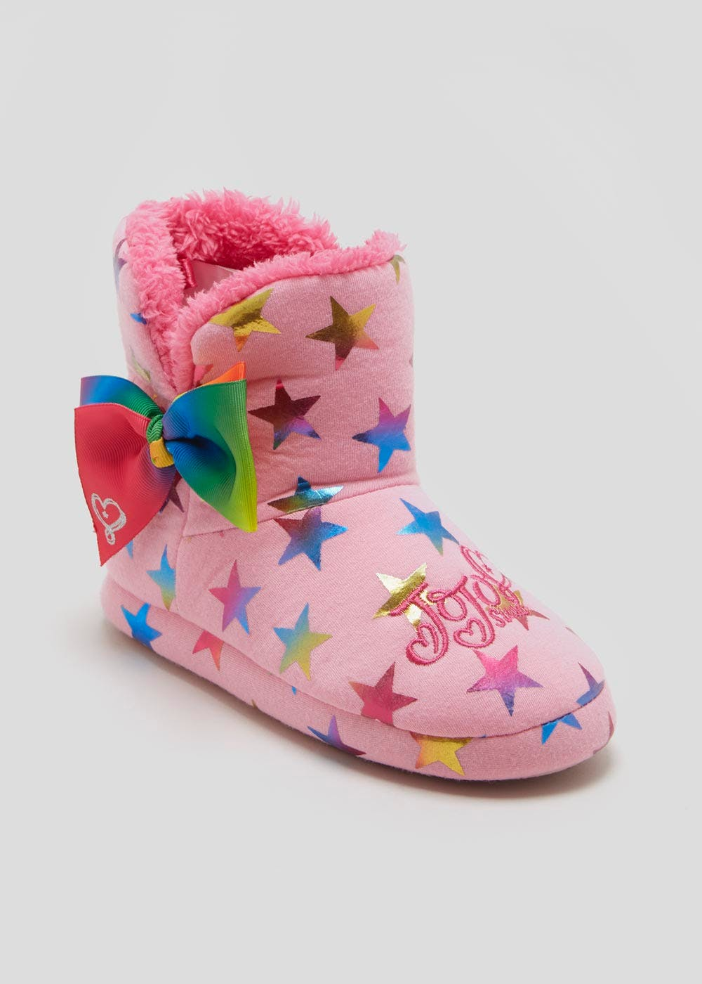 93d63e94ca28 Kids JoJo Siwa Bow Slipper Boots (Younger 8-Older 2) – Pink – Matalan