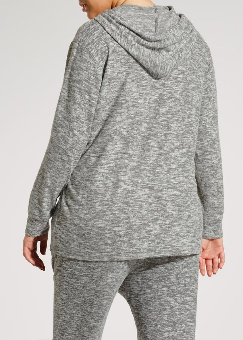 Papaya Curve Soft Touch Hoodie