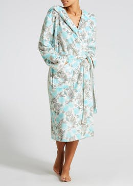 Floral Maxi Dressing Gown