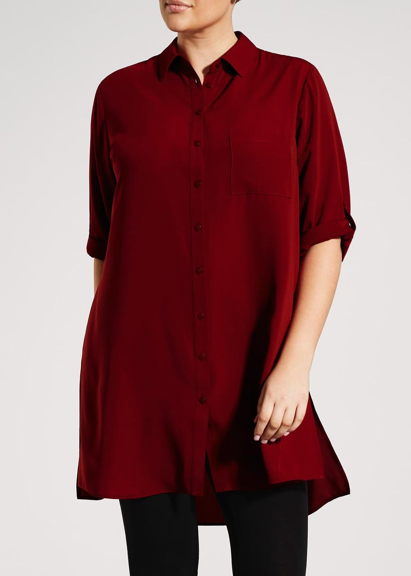 Papaya Curve Tunic Shirt