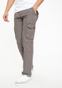 4731ce71b2a Straight Fit Cargo Trousers