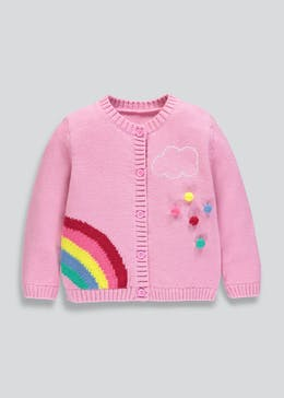 Girls Rainbow Cardigan (9mths-6yrs)