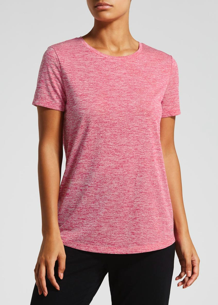 Souluxe Pleat Back Gym T-Shirt