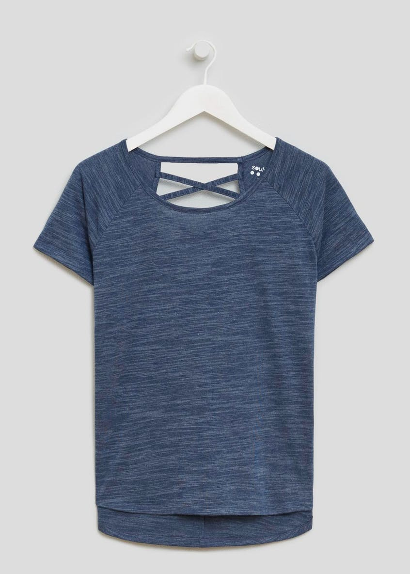 Souluxe Criss Cross Sports T-Shirt
