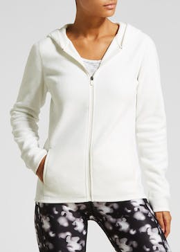 Souluxe Zip Through Micro-Fleece