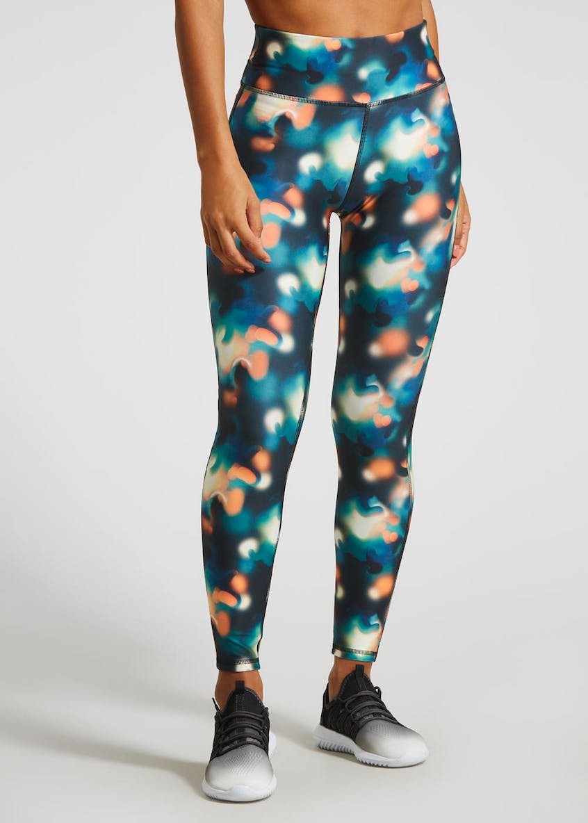 Souluxe Smudge Print Gym Leggings