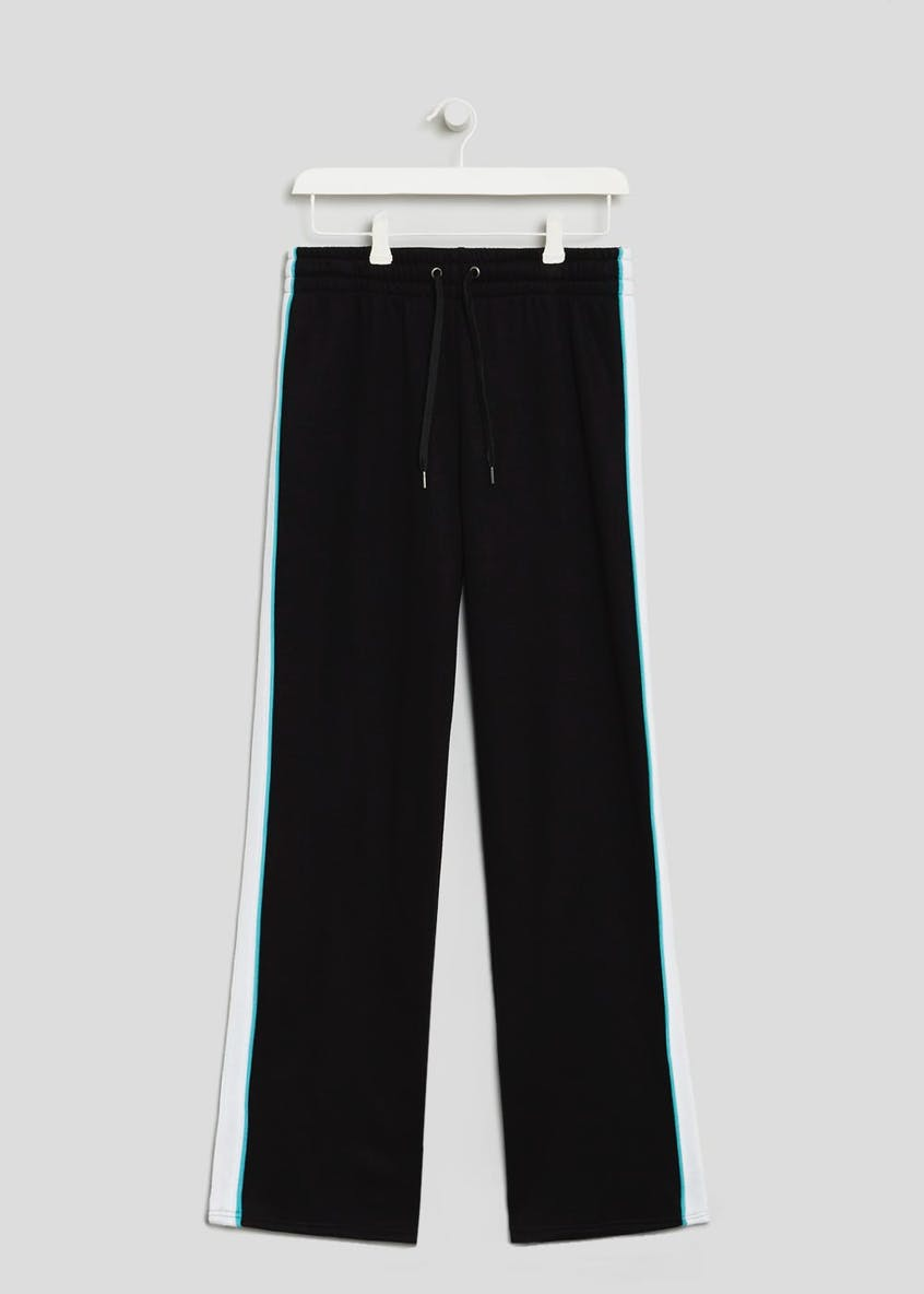 Souluxe Stripe Wide Leg Jogging Bottoms