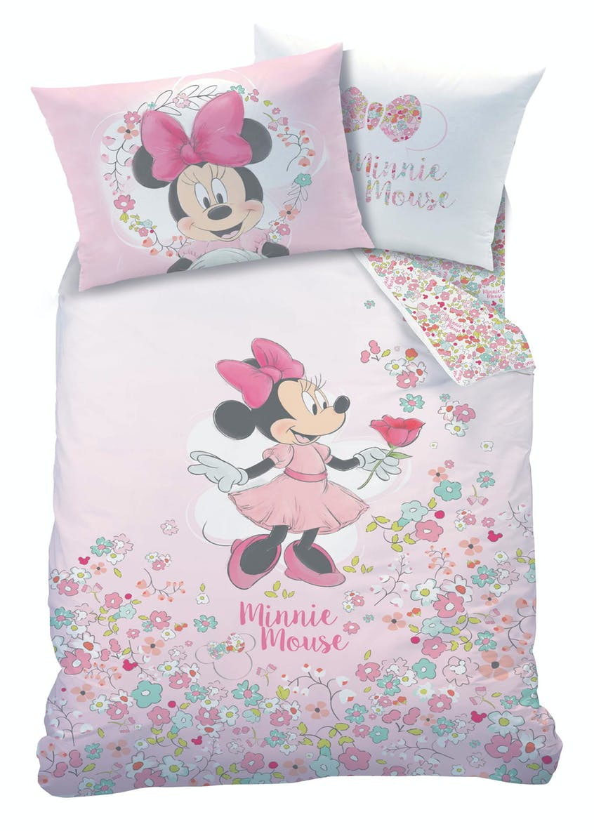 Kids Disney Minnie Mouse Duvet Cover (Single)