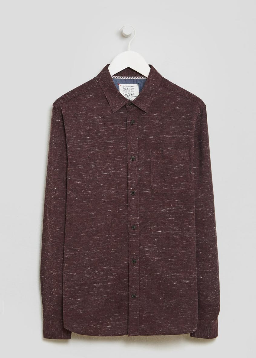 Morley Long Sleeve Nep Shirt