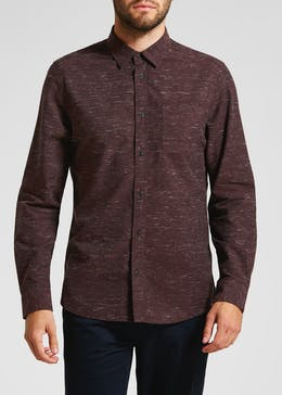564e53754b Morley Long Sleeve Nep Shirt