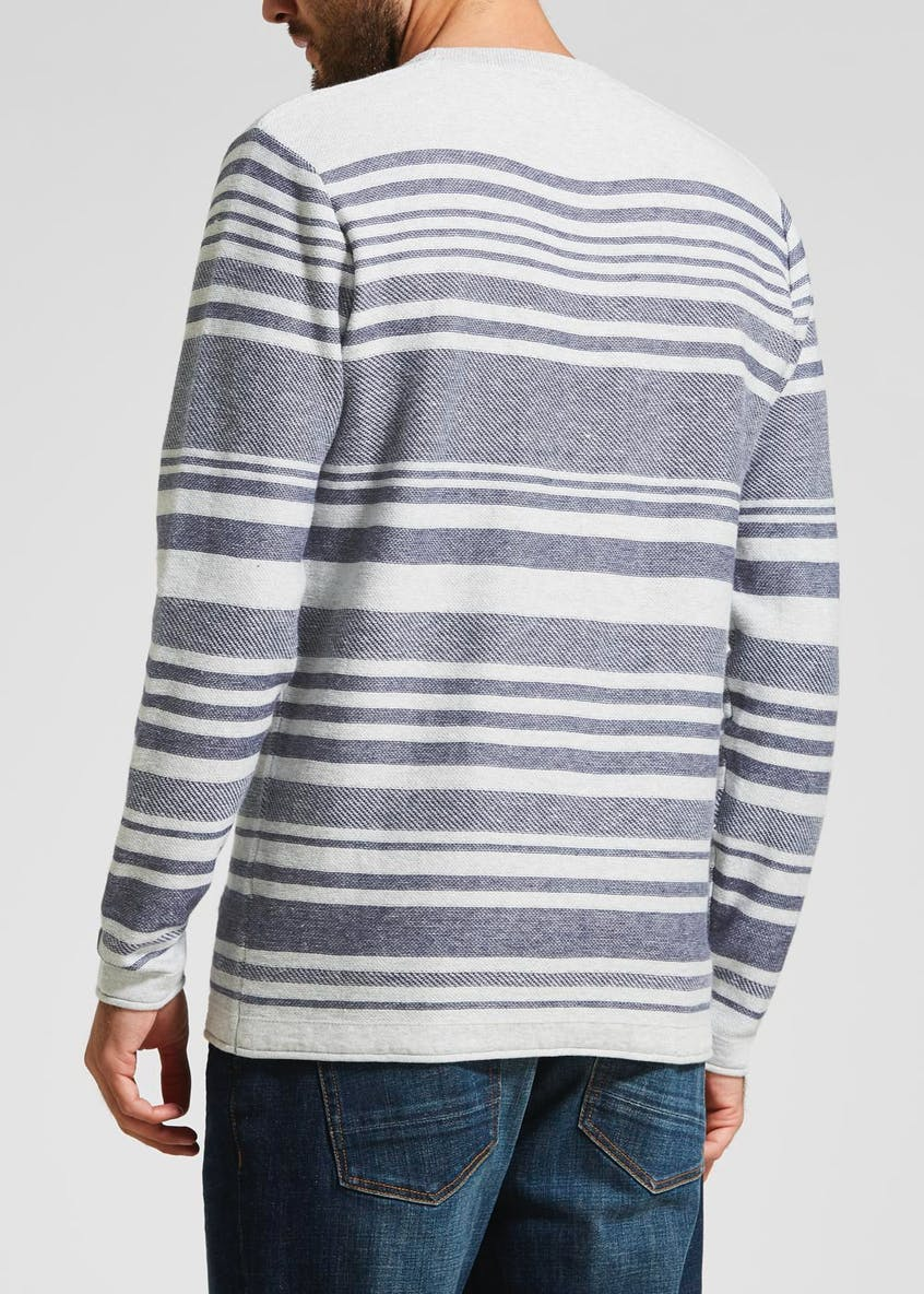 Morley Stripe Crew Neck Jumper