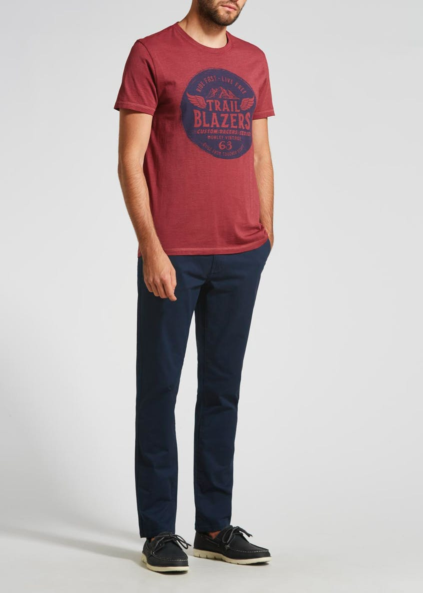 Morley Straight Fit Chino Trousers