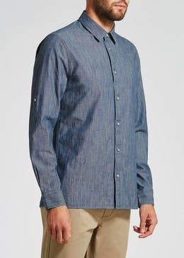 Morley Long Sleeve Denim Shirt