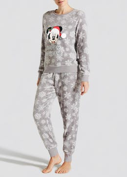 Disney Mickey Mouse Christmas Twosie Pyjama Set