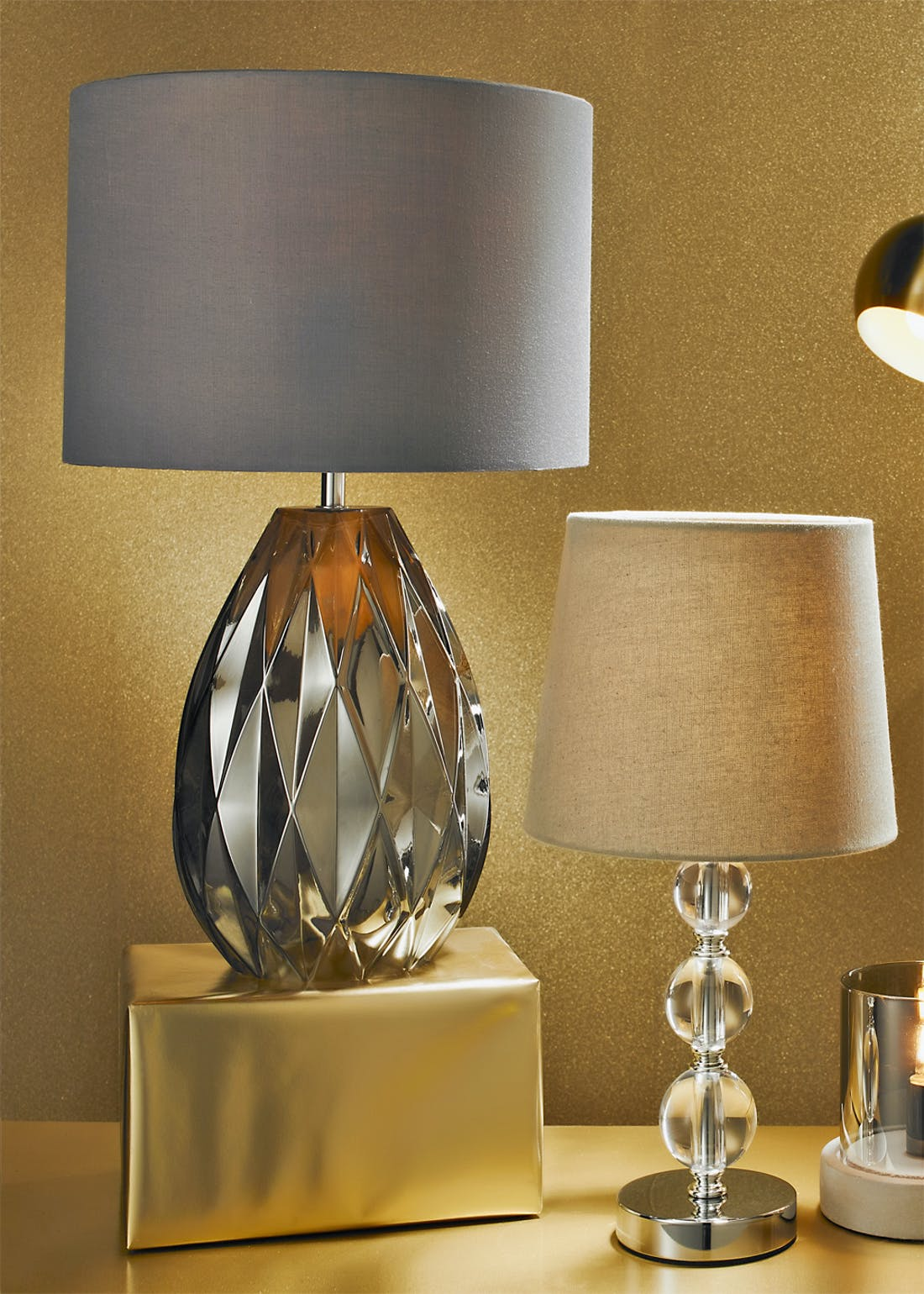 Orby Table Lamp (H37cm x W21cm)