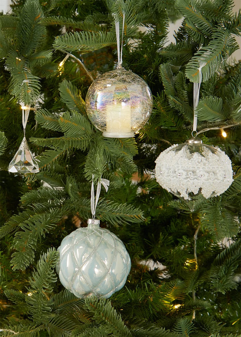 Locket Christmas Tree Bauble (10cm)