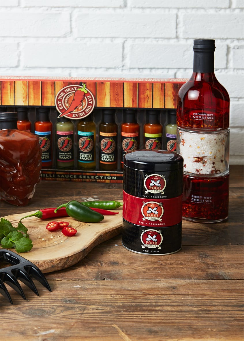 10 Pack Giant Chilli Sauce Selection (50ml)