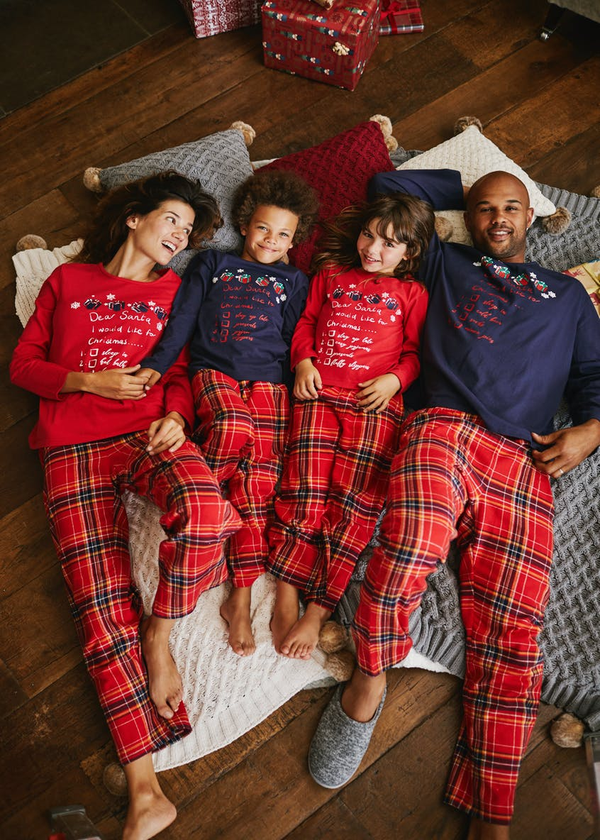 Family Dear Santa Christmas Pyjama Set